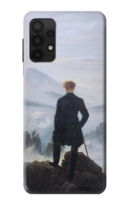S3789 霧の海の上の放浪者 Wanderer above the Sea of Fog Samsung Galaxy A32 4G バックケース、フリップケース・カバー