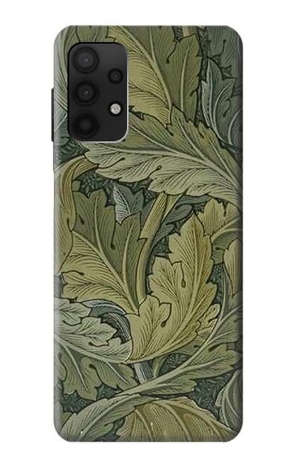 S3790 ウィリアムモリスアカンサスの葉 William Morris Acanthus Leaves Samsung Galaxy A32 4G バックケース、フリップケース・カバー