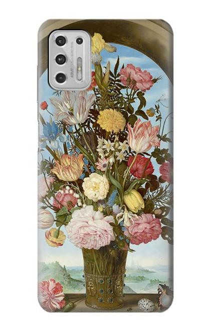 S3749 花瓶 Vase of Flowers Motorola Moto G Stylus (2021) バックケース、フリップケース・カバー