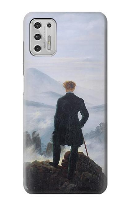 S3789 霧の海の上の放浪者 Wanderer above the Sea of Fog Motorola Moto G Stylus (2021) バックケース、フリップケース・カバー