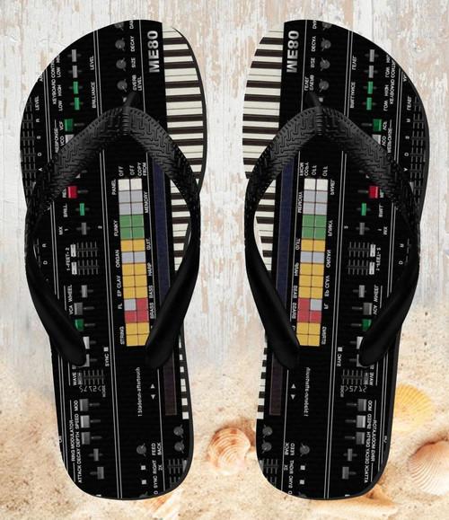 FA0002 シンセサイザー Synthesizer 夏サンダル ビーチサンダル  メンズ レディース ユニセックス