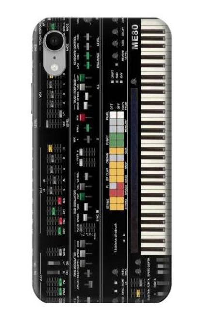 S0061 シンセサイザー Synthesizer iPhone XR バックケース、フリップケース・カバー