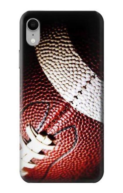 S0062 アメリカンフットボール American Football iPhone XR バックケース、フリップケース・カバー