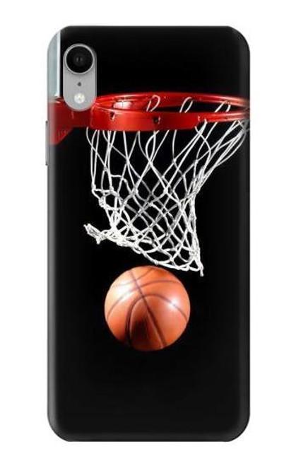 S0066 バスケットボール Basketball iPhone XR バックケース、フリップケース・カバー
