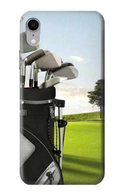 S0067 ゴルフ Golf iPhone XR バックケース、フリップケース・カバー