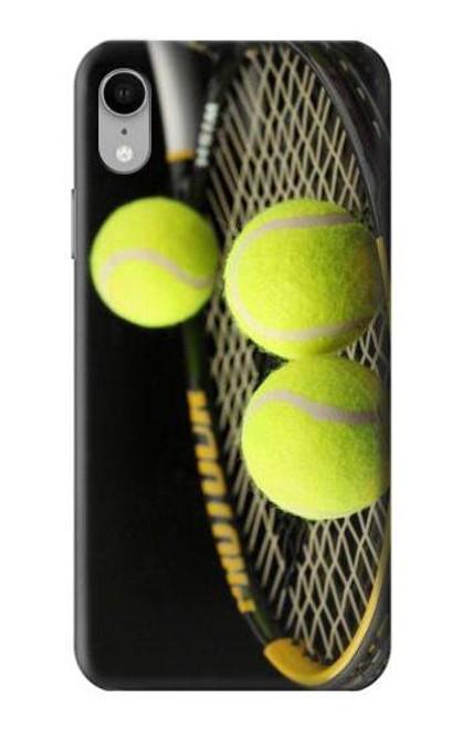S0072 テニス Tennis iPhone XR バックケース、フリップケース・カバー