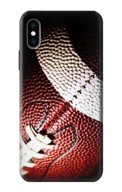 S0062 アメリカンフットボール American Football iPhone X, iPhone XS バックケース、フリップケース・カバー