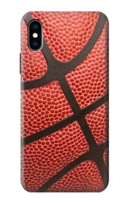 S0065 バスケットボール Basketball iPhone X, iPhone XS バックケース、フリップケース・カバー