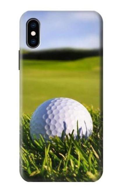 S0068 ゴルフ Golf iPhone X, iPhone XS バックケース、フリップケース・カバー