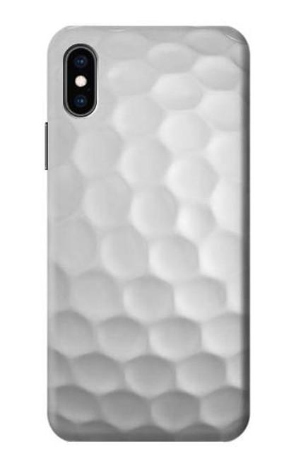 S0071 ゴルフボール Golf Ball iPhone X, iPhone XS バックケース、フリップケース・カバー