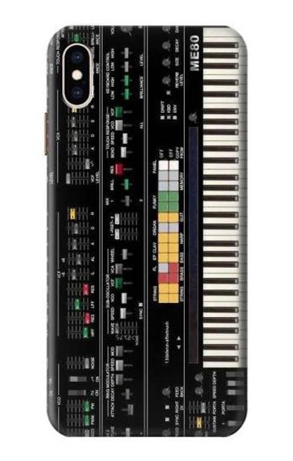 S0061 シンセサイザー Synthesizer iPhone XS Max バックケース、フリップケース・カバー