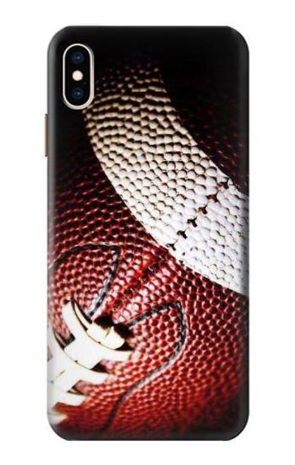 S0062 アメリカンフットボール American Football iPhone XS Max バックケース、フリップケース・カバー