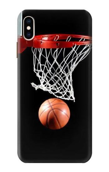 S0066 バスケットボール Basketball iPhone XS Max バックケース、フリップケース・カバー
