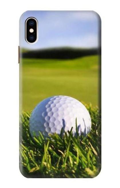 S0068 ゴルフ Golf iPhone XS Max バックケース、フリップケース・カバー