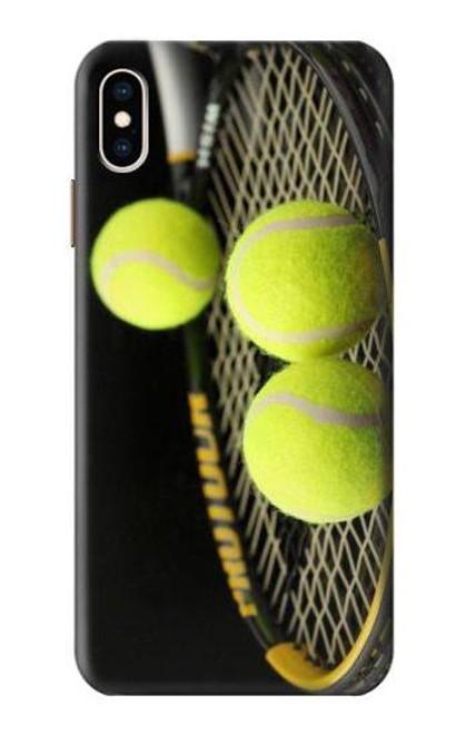 S0072 テニス Tennis iPhone XS Max バックケース、フリップケース・カバー