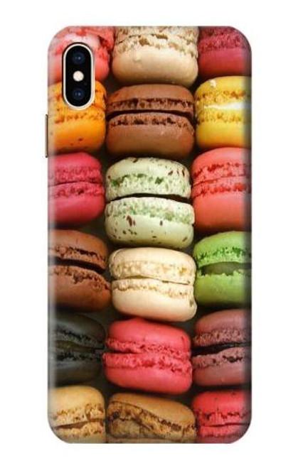 S0080 マカロン Macarons iPhone XS Max バックケース、フリップケース・カバー