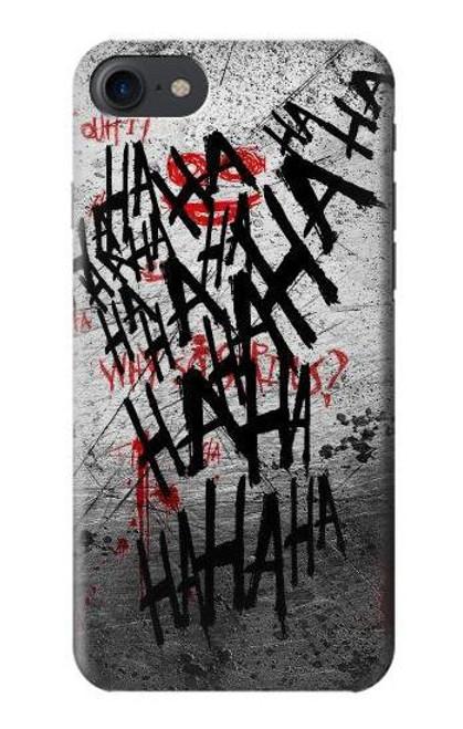 S3073 ジョーカー ハハハ・ブラッド・スプラッシュ Joker Hahaha Blood Splash iPhone 7, iPhone 8 バックケース、フリップケース・カバー