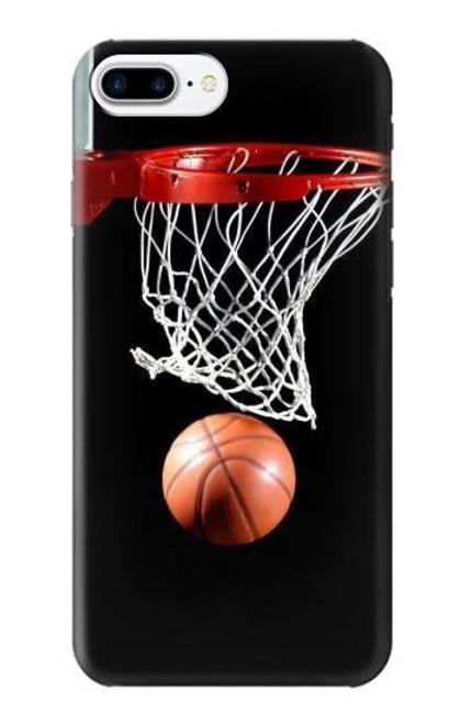 S0066 バスケットボール Basketball iPhone 7 Plus, iPhone 8 Plus バックケース、フリップケース・カバー
