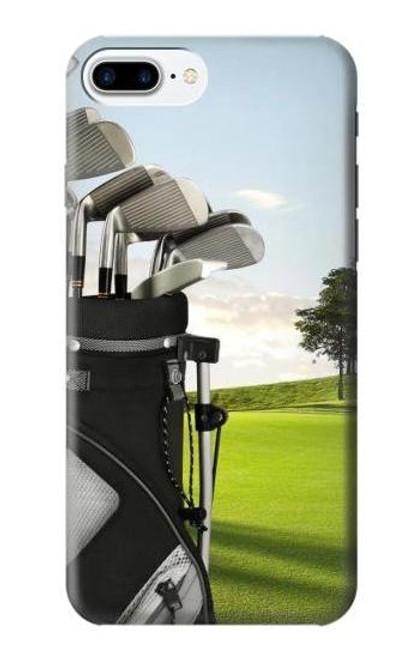 S0067 ゴルフ Golf iPhone 7 Plus, iPhone 8 Plus バックケース、フリップケース・カバー