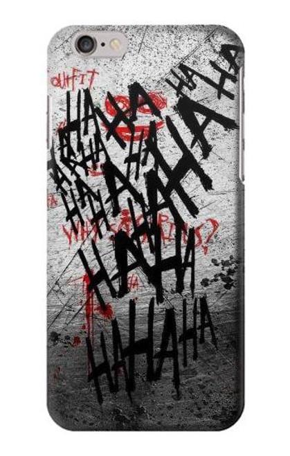 S3073 ジョーカー ハハハ・ブラッド・スプラッシュ Joker Hahaha Blood Splash iPhone 6 6S バックケース、フリップケース・カバー