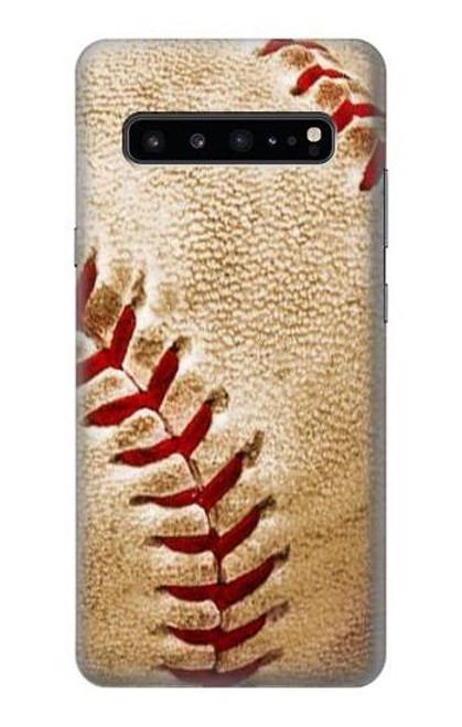 S0064 野球 ベースボール Baseball Samsung Galaxy S10 5G バックケース、フリップケース・カバー
