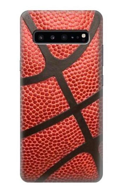 S0065 バスケットボール Basketball Samsung Galaxy S10 5G バックケース、フリップケース・カバー