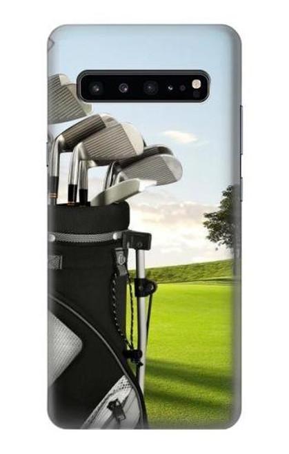 S0067 ゴルフ Golf Samsung Galaxy S10 5G バックケース、フリップケース・カバー