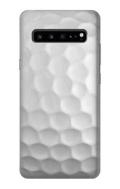 S0071 ゴルフボール Golf Ball Samsung Galaxy S10 5G バックケース、フリップケース・カバー