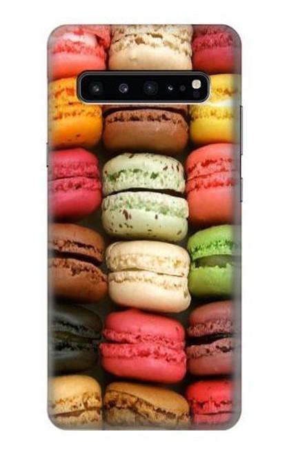 S0080 マカロン Macarons Samsung Galaxy S10 5G バックケース、フリップケース・カバー