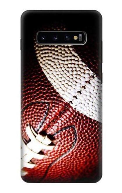 S0062 アメリカンフットボール American Football Samsung Galaxy S10 Plus バックケース、フリップケース・カバー