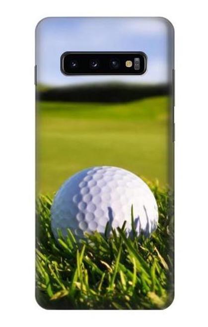 S0068 ゴルフ Golf Samsung Galaxy S10 Plus バックケース、フリップケース・カバー