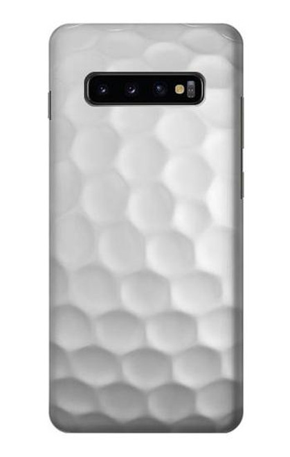 S0071 ゴルフボール Golf Ball Samsung Galaxy S10 Plus バックケース、フリップケース・カバー