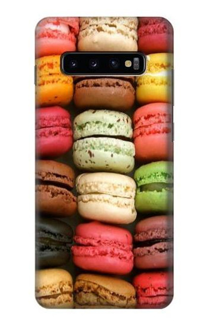 S0080 マカロン Macarons Samsung Galaxy S10 Plus バックケース、フリップケース・カバー