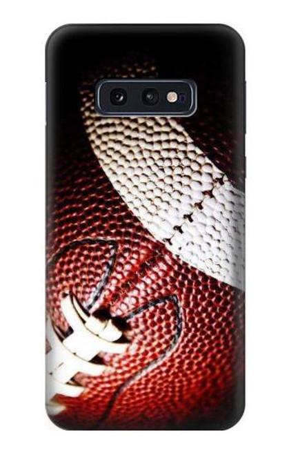 S0062 アメリカンフットボール American Football Samsung Galaxy S10e バックケース、フリップケース・カバー