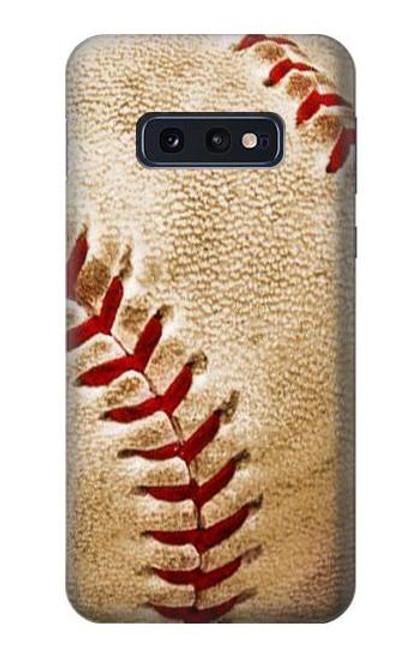 S0064 野球 ベースボール Baseball Samsung Galaxy S10e バックケース、フリップケース・カバー