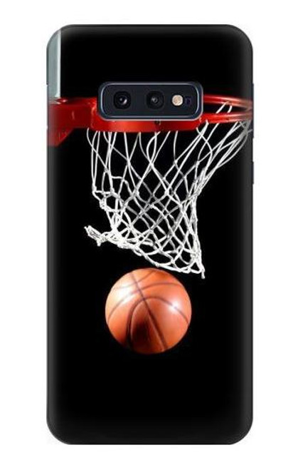 S0066 バスケットボール Basketball Samsung Galaxy S10e バックケース、フリップケース・カバー