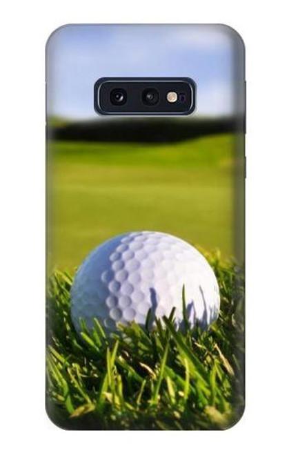 S0068 ゴルフ Golf Samsung Galaxy S10e バックケース、フリップケース・カバー