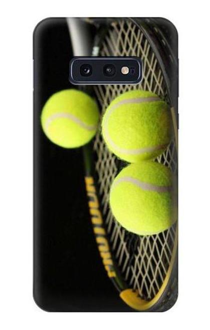 S0072 テニス Tennis Samsung Galaxy S10e バックケース、フリップケース・カバー