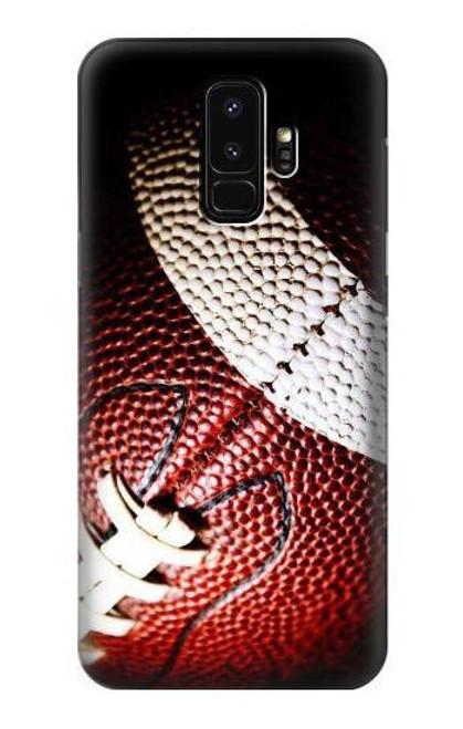 S0062 アメリカンフットボール American Football Samsung Galaxy S9 Plus バックケース、フリップケース・カバー
