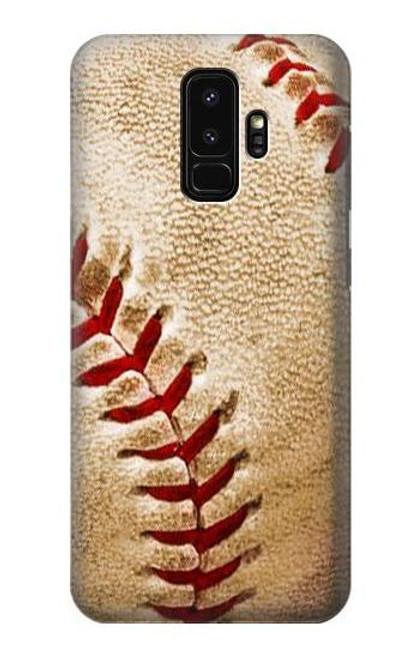 S0064 野球 ベースボール Baseball Samsung Galaxy S9 Plus バックケース、フリップケース・カバー