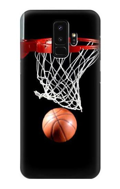 S0066 バスケットボール Basketball Samsung Galaxy S9 Plus バックケース、フリップケース・カバー
