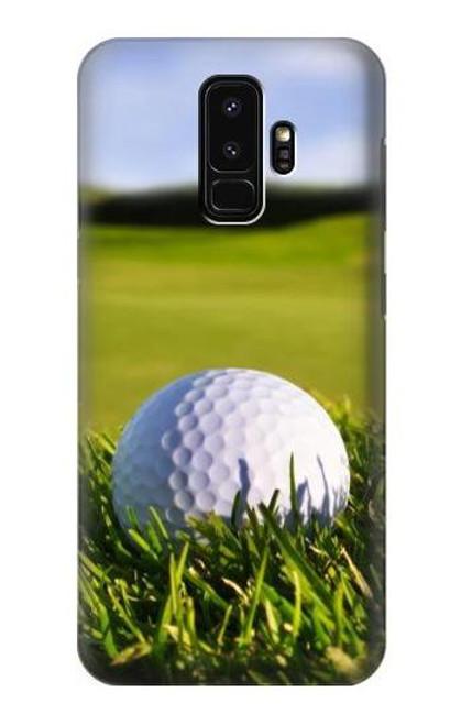 S0068 ゴルフ Golf Samsung Galaxy S9 Plus バックケース、フリップケース・カバー