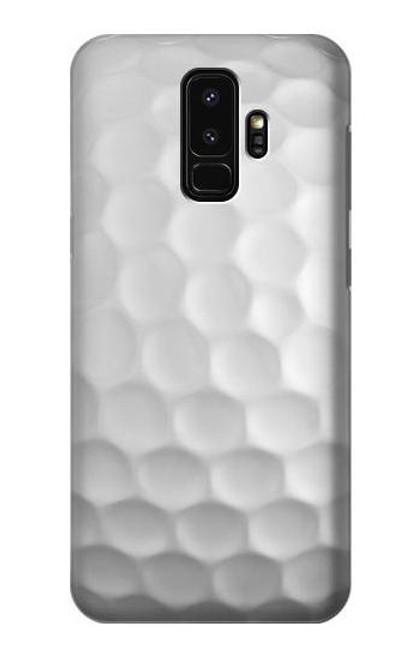 S0071 ゴルフボール Golf Ball Samsung Galaxy S9 Plus バックケース、フリップケース・カバー