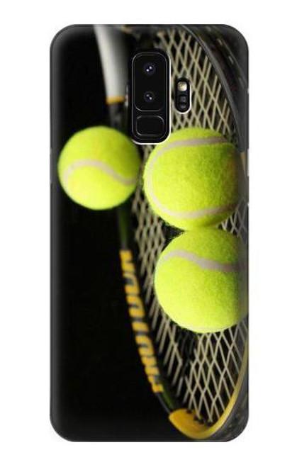 S0072 テニス Tennis Samsung Galaxy S9 Plus バックケース、フリップケース・カバー