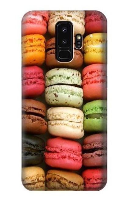 S0080 マカロン Macarons Samsung Galaxy S9 Plus バックケース、フリップケース・カバー