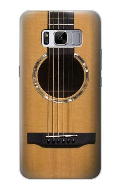 S0057 アコースティックギター Acoustic Guitar Samsung Galaxy S8 バックケース、フリップケース・カバー