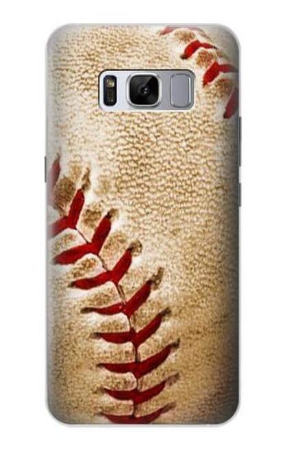 S0064 野球 ベースボール Baseball Samsung Galaxy S8 バックケース、フリップケース・カバー