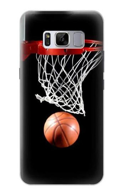 S0066 バスケットボール Basketball Samsung Galaxy S8 バックケース、フリップケース・カバー