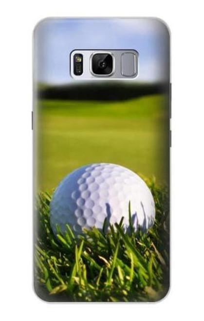 S0068 ゴルフ Golf Samsung Galaxy S8 バックケース、フリップケース・カバー