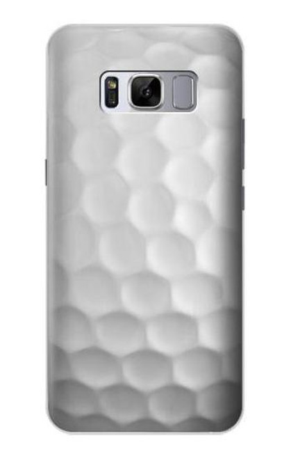 S0071 ゴルフボール Golf Ball Samsung Galaxy S8 バックケース、フリップケース・カバー